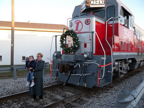 Indiana Rail Road Santa Train 2009